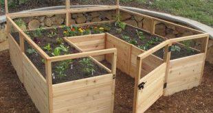 Leben im Freien heute 8 Fuß x 8 Fuß Western Red Cedar Raised Garden Bed