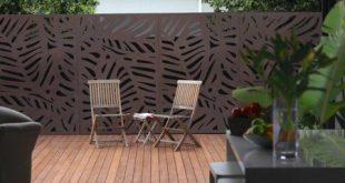 Sichtschutz & Dekorplatte - Jungle 6x3, Rot