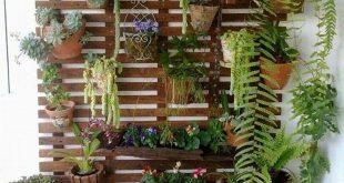 Sie müssen nicht darauf verzichten, ein bisschen Natur zu Hause zu haben, wenn der Außenbereich ...
