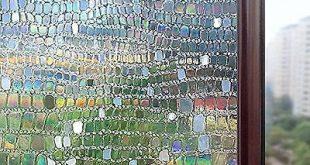 ... Statisch haftende Fensterfolie Dekoratives Sichtschutzfenster | Was ist es wert?