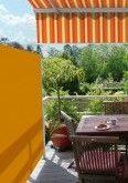 Versenkbare Sichtschutzwand für Ihre Terrasse