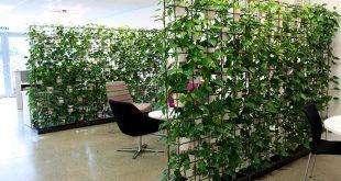 Vertikale Pflanzenwände bieten den zusätzlichen Vorteil, dass sie heutzutage mobiler sind ...