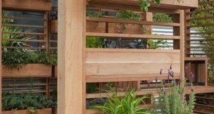 Wall Gardens und unterstützte vertikale Gartenideen, Designs, Tipps