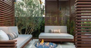 16 Funktionsideen für das Entwerfen eines hübschen Decks in einem kleinen Garten