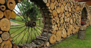 19 coole DIY-Ideen, um Protokolle und Protokolle kreativ in Ihrem Garten zu verwenden