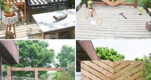 20 coole Ideen für mehr Privatsphäre in Patio und Garten Bauen Sie eine Terrasse - #Build #Cool ...