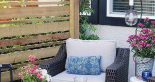 45 schöne kleine Veranda Dekor Ideen für den Sommer