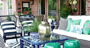 BLOGGER STYLIN 'HOME TOURS SOMMERAUSGABE - PATIO REVEAL!