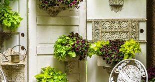 Basteln Sie Ihre eigene Gartendekoration - 101 Beispiele und Upcycling-Ideen