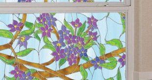 Biscayne Datenschutz | Glasmalerei (statisch haftend)