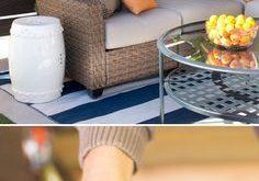 Dieser DIY-Outdoor-Sichtschutz mit seinen horizontalen Lamellen und ...