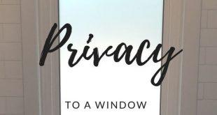 Einfaches Hinzufügen von Datenschutz zu einem Fenster