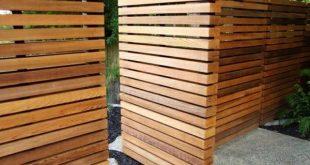 Holzzaundesigns - schöne Außenlösungen
