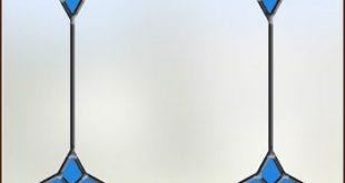 Monterey Bay Glasmalerei Sichtschutzfolie