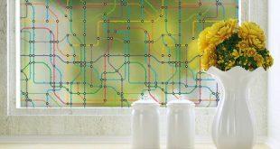 Transit Privacy Window Film - Farbe - Groß 48 Zoll x 84 Zoll