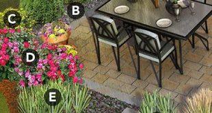 Umgeben Sie Ihre Terrasse mit einer einladenden Landschaft voller Schönheit und Privatsphäre. --Niedrig...
