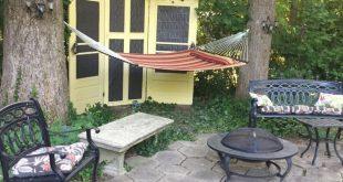 Verwandeln Sie Sichtschutztüren in Privatsphäre im Hinterhof