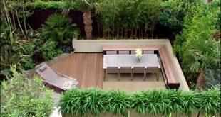 Zeitgenössisches Design für kleine Gärten, kreative Ideen für die Gartengestaltung