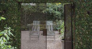 10 Genius Garden Hacks mit verrostetem Metall