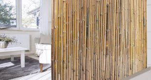Bambus Sichtschutzzaun | Natur | 3 Größen | volle Bambusrohre