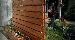 50 DIY Günstige Privacy Fence Design-Ideen