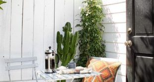 16 funktionale Ideen für die Gestaltung eines hübschen Decks in einem kleinen Garten - - あ ー ー ー