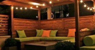 17+ Trendy kleinen Hinterhof Terrasse Privatterrassen