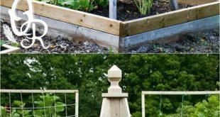 21 schöne und DIY-freundliche Gartengitter und Strukturen, wie gur ... #friend ...