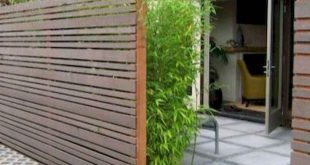 28 DIY Günstige Privacy Fence Design-Ideen