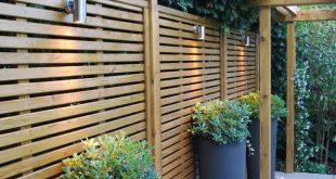 35 Ideen für intelligente und stilvolle Gartenvorführungen ... - #GartenScreeningId #int ...