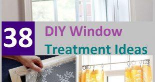 35+ Wunderschöne DIY-Fensterbehandlungsideen, aus denen Ihr Sommerprojekt wird ... - 2019