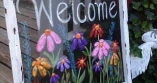 35 niedliche Gartenschildideen, die Ihren Garten einladender machen