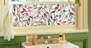 3D Äste Blätter Glasmalerei Film Statisch haftenden Fensterfolie für Badezimmer Matt Privatsphäre Fenster Dekoration Aufkleber Film
