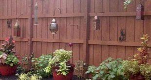 41 DIY Backyard Privacy Fence Design-Ideen mit kleinem Budget