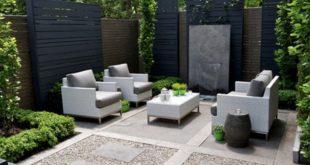 45 Innenhof Garten Ideen Sichtschutz Landschaftsgestaltung