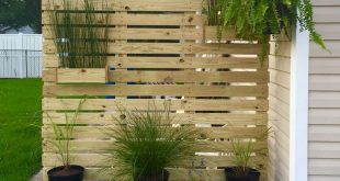 65 DIY Backyard Privacy Fence Design Ideas on A Budget
