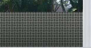 Ägyptische Webart im schwarzen Privatleben-Fenster-Film