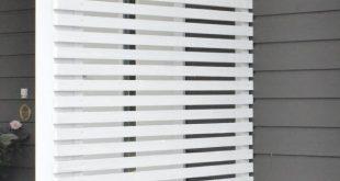 Augenschutzzaun, Zaun, Veranda, Gitterzaun, Gitter, Weiß, Hofideen --- p ...