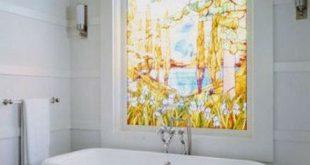 Badezimmer Fenster Datenschutz DIY-Ideen 49+ Trendy Ideas
