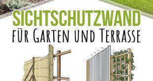 Bau eines Bildschirms - Garten und Terrasse