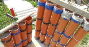 Beton - Palisaden oder Säulen selber bauen - Bauanleitung für Heimwerker - 1-2 ...