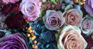 Bouquets - Inspirationen für Blumensträuße in Blau- und Violetttönen ...