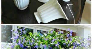 DIY Candelabrum Flower Planter mit Upcycled Deckenventilator Shadow
