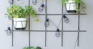 DIY - Pflanzgitter für Garten & Balkon aus Rundstäben selber