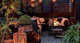 Dach Design schöne Aussichten Deko Ideen Gartenmöbel kreativen Garten