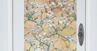 Hartriegel Blüte | Semi -Privacy (statisch haftend)