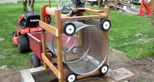 Hausgemachte Rotary Erde / Kompost-Bildschirm - wollen so etwas bauen, aber b ...