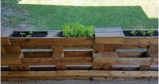 Hervorragende Ideen, um gebrauchte Holzpaletten zu recyceln