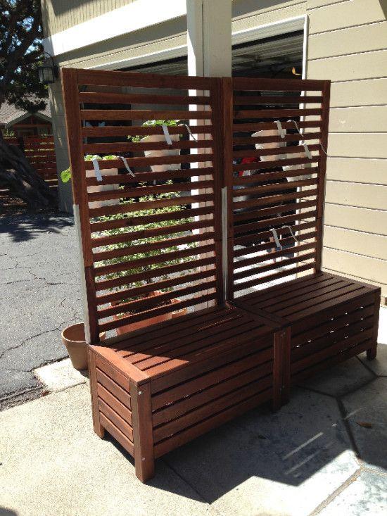 IKEA HACK: Bauen Sie Ihre eigene Gartenbank mit Ikea Möbeln!
