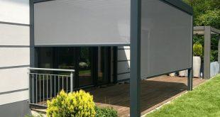 Laminatdach, einfach optimaler Sonnen- und Wetterschutz mit dem Bioklima ...